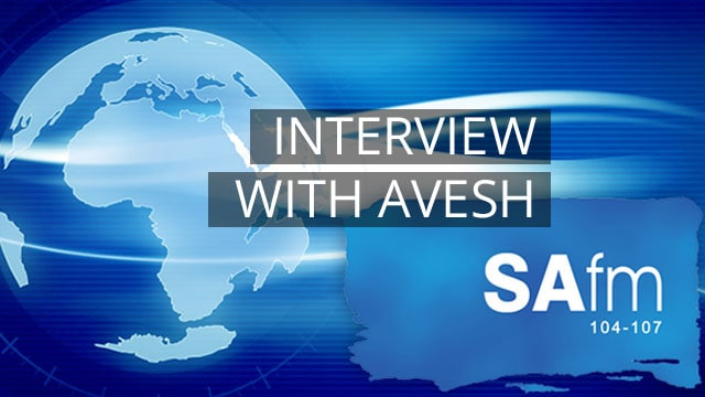 Interview and QnA with Avesh on SAfm