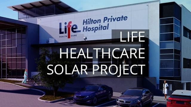 Fibon Energy Awarded Life Healthcare Solar Project