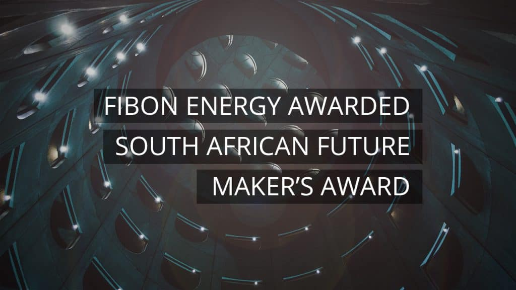 Fibon Energy Awarded South African Future Maker's award