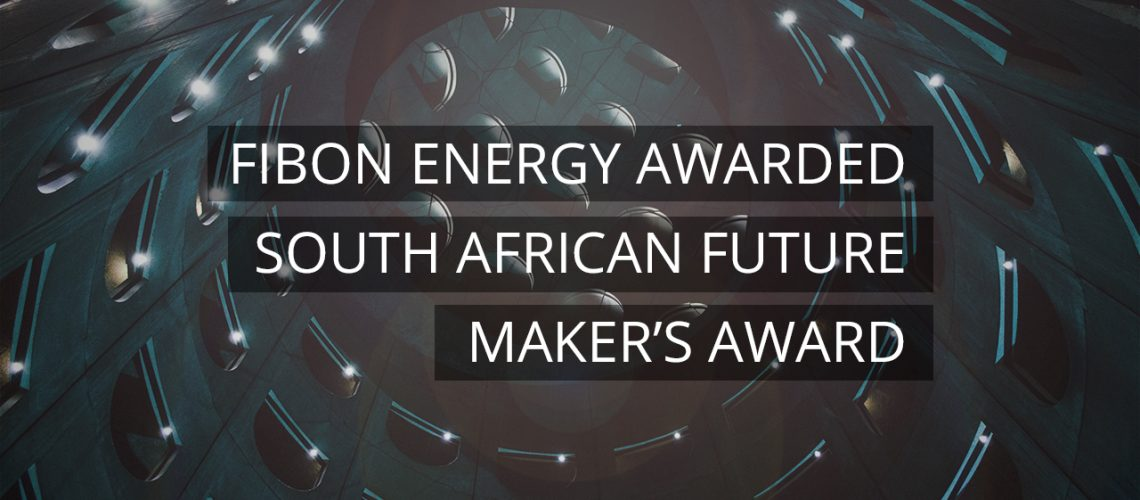 Fibon Energy Awarded South African Future Maker's award